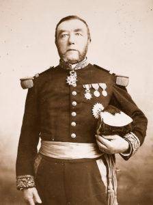 Le contre-amiral Auguste O'Neill, 1891 - Remerciements à Jacques Loyer