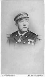 Auguste O'Neill, février 1891