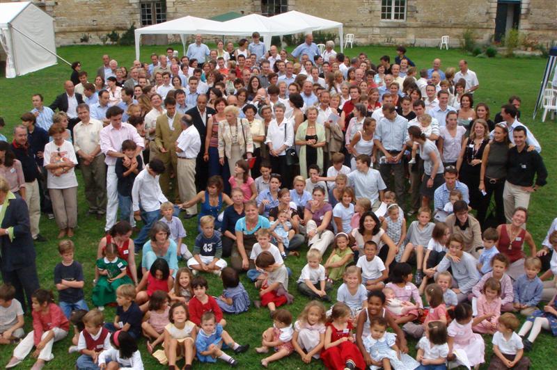 Les descendants d'Auguste O'Neill à Tanlay en 2006