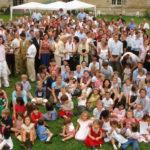 Réunion des descendants d'Auguste à Tanlay (2006)