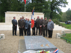 Hommage au Colonel O'Neill, Carrefour de la Résistance (2)