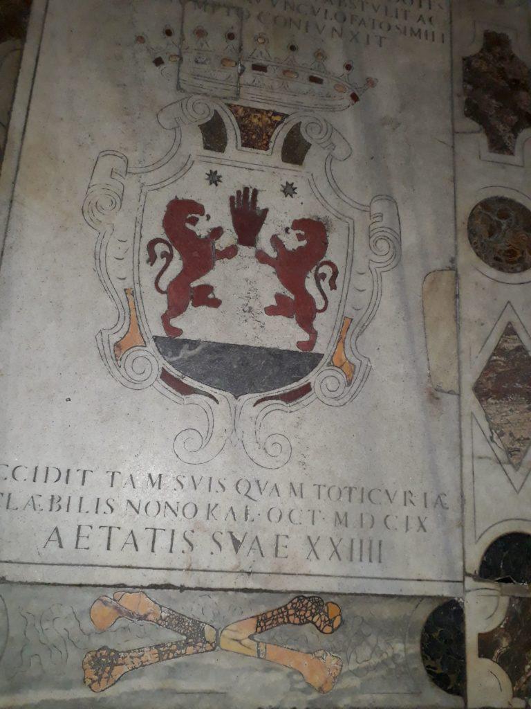 1609 - Tombe Hugh O'Neill San Pietro di Montorio (Rome)