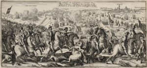 La defaicte des Espagnols à l'attaque du siége d'Arras
